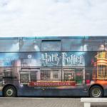 Der Bus zur Harry Potter Studio Tour