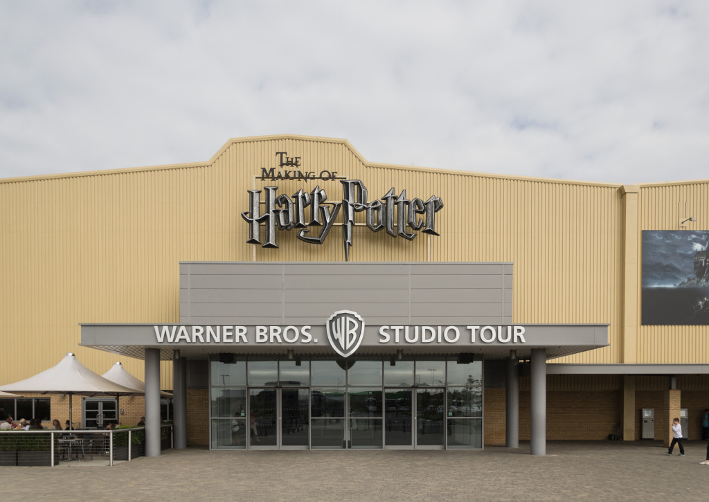 Eingang zur Harry Potter Studio Tour