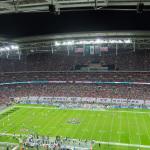 Volles Stadion - gute Stimmung - NFL in London