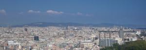 Aussicht auf Barcelona von den Seilbahnen mein Reisetopp  Barcelonas aus.