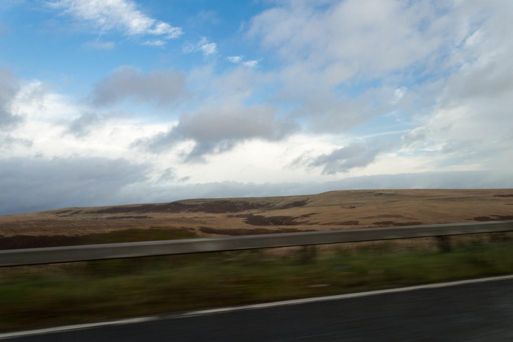 Herbstlandschaft in der Mitte Englands