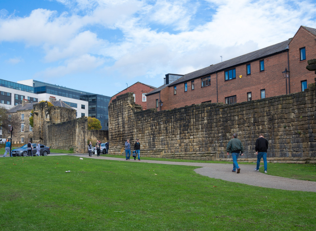 Stadtmauer von Newcastle