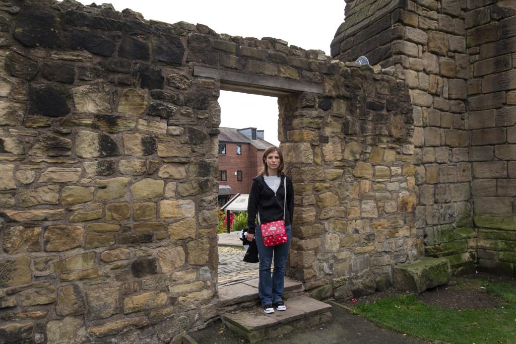 Stadtmauerdurchgang Newcastel
