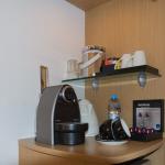 Nespresso Maschine im Zimmer des Novotel Bristol City Centre