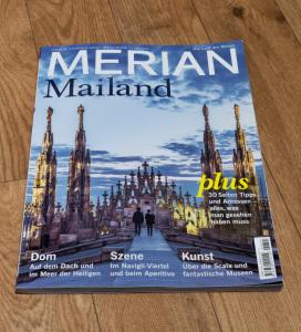 Heft Merian Mailand