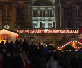 Happy Christmas Birmingham