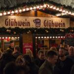Glühwein auf dem Frankfurt Christamas Market Birmingham