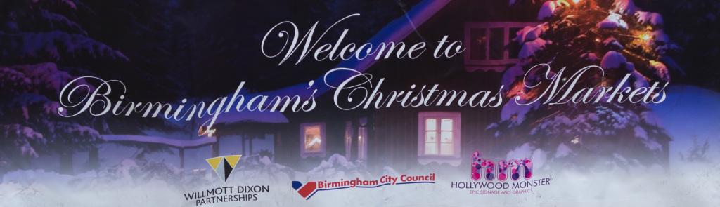 Birmingham Weihnachtsmarkt