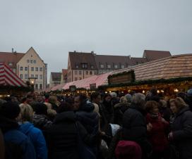 Auf dem Christkindlesmarkt