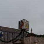 Beschilderung der Christkindlesmarkt Gassen