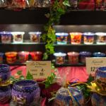 Teelichthalter mit Weihnachtlicher Dekoration