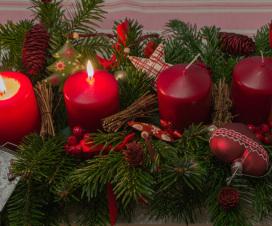 2. Advent - Adventskranz