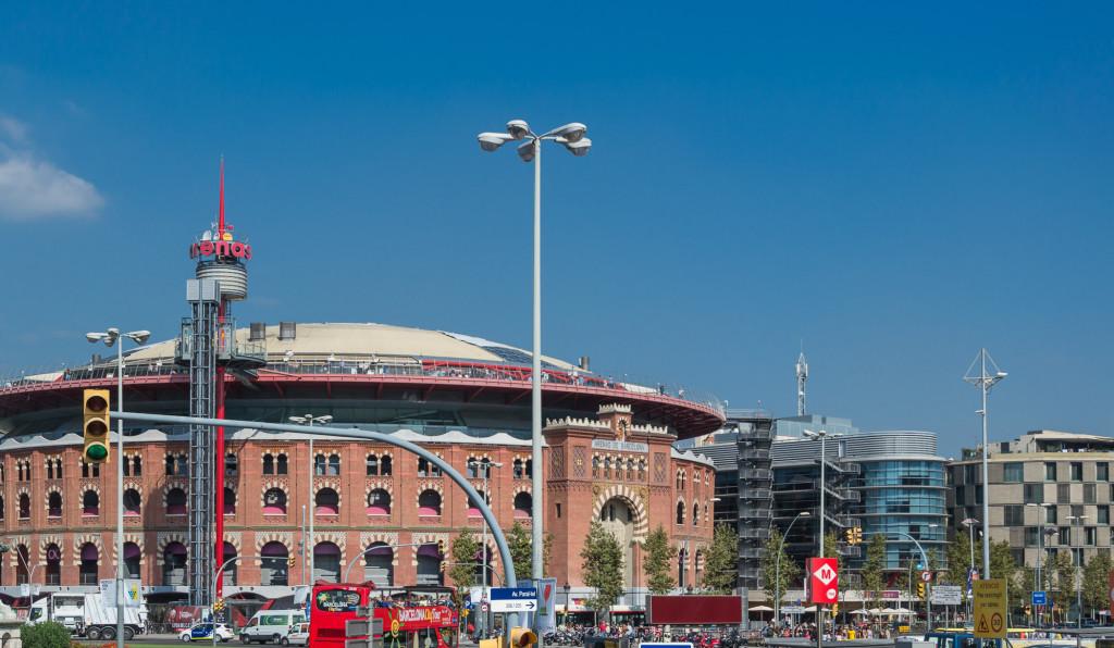 Arenas de Barcelona ehemalige Stierkampf Arena, jetzt Einkaufszentrum