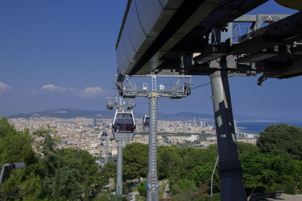 Seilbahn auf den Montjuic