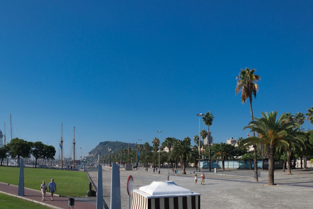Hafen Promenade Barcelonas