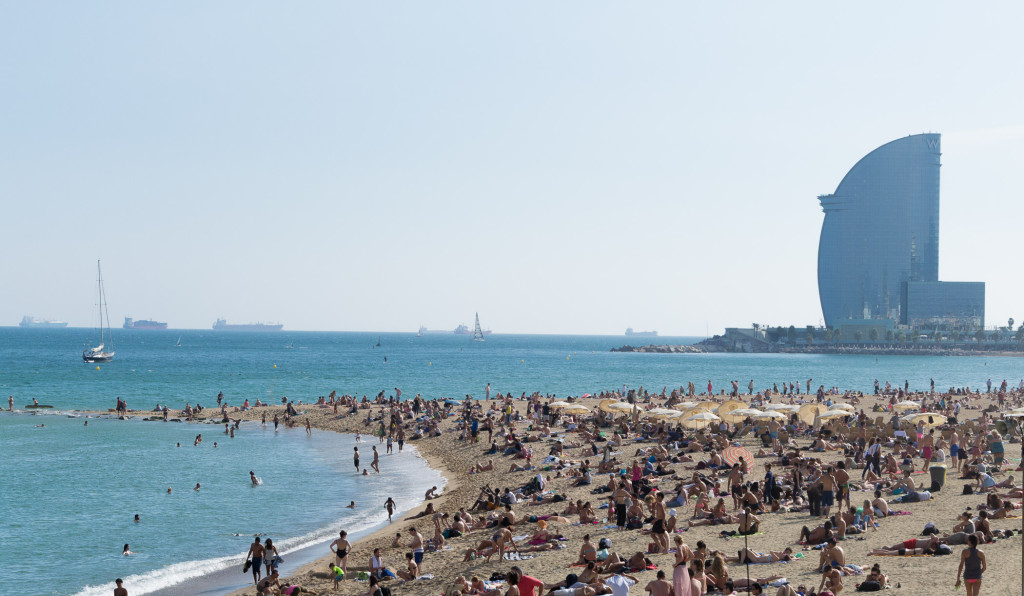 Barcelonas Strand