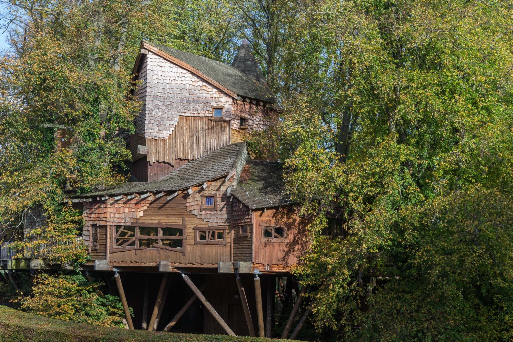 Baumhaus im verbotenen Wald