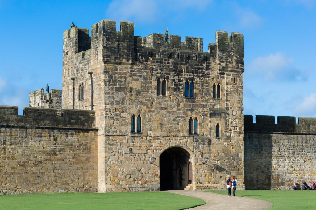weiterer Eingang zu Alnwick Castle