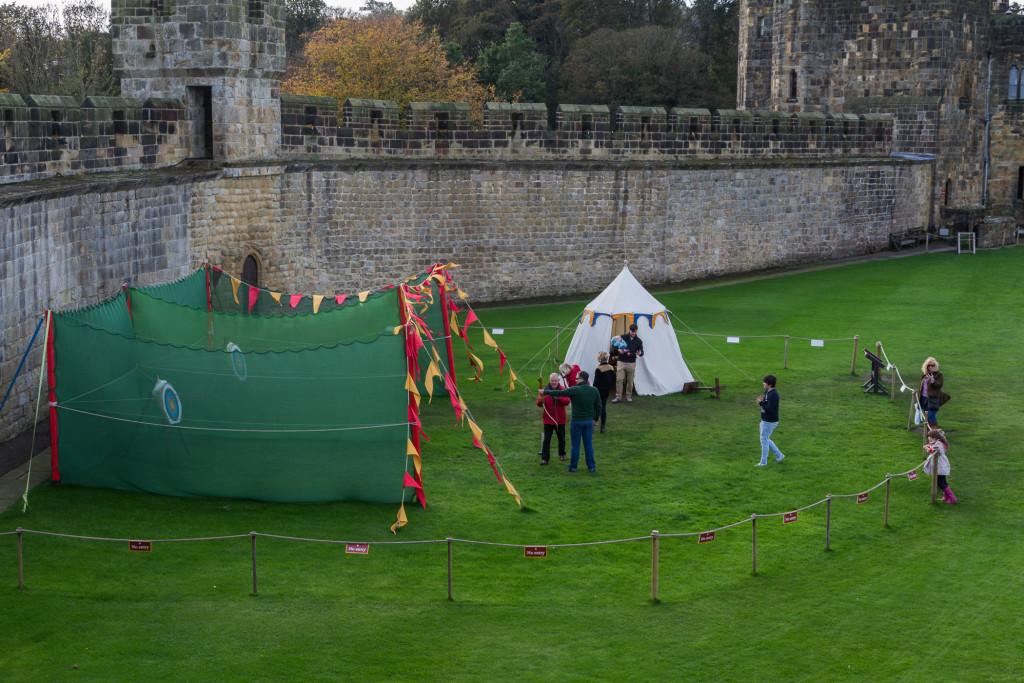 Bogenschießen in Alnwick Castle