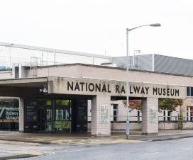 National Railway Museum York - Eingang