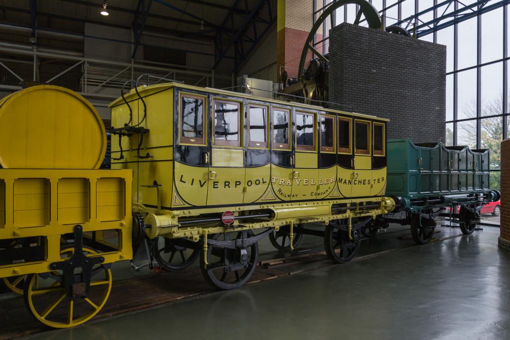 Liverpool Traveller Manchester - alter Reisezug Wagen