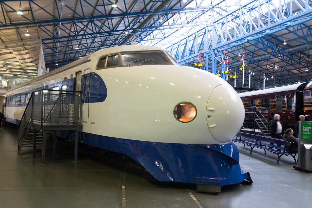 Shinkase im Railway Museum York - Japanischer Schnellreisezug