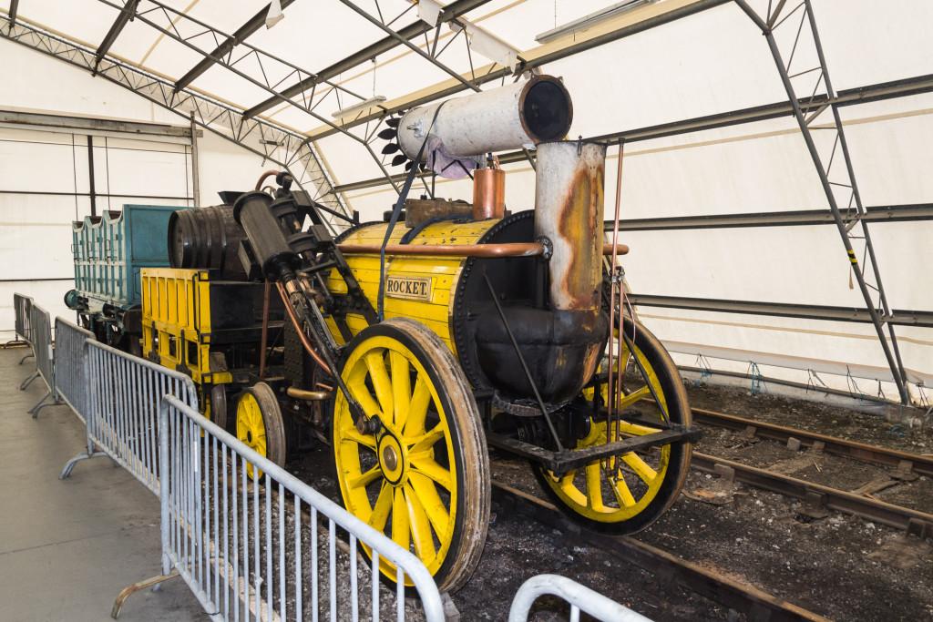 Rocket - eine der ersten Lokomotiven