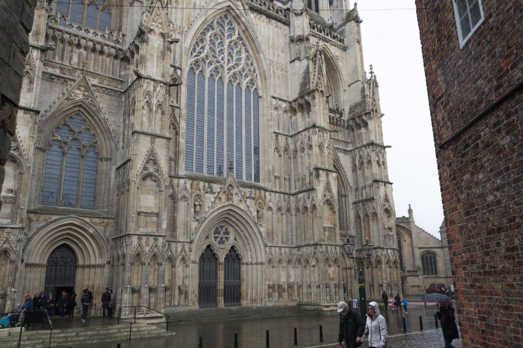 York Minster bei Regen