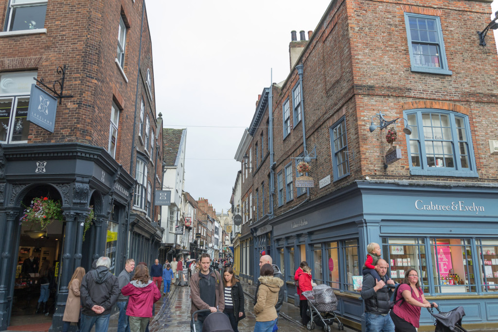 Shoppen in Yorks Altstadt