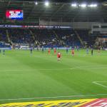 Are you ready Cardiff - Heimspiel Cardiff City FC unter der Woche unter Flutlicht