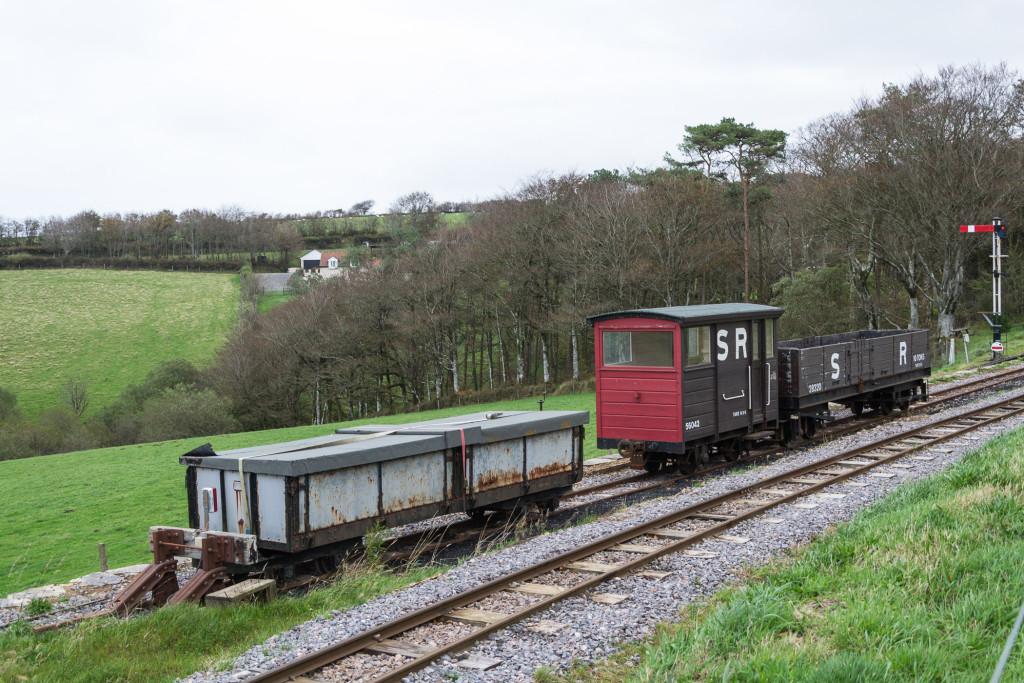 Southern Railway - Alte Schmallspur Anhänger