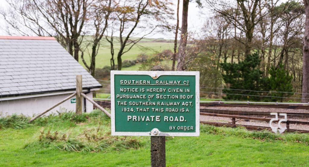 Southern Railway Schild