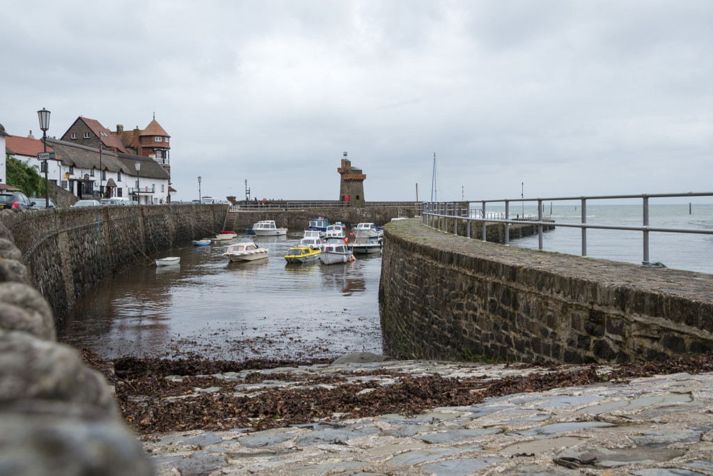 Noch etwas kann das Wasser in Lynmouth steigen
