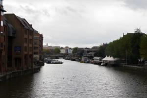 Floating Harbour Bristol - Blick auf das Wasser