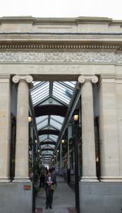 The Arcade Bristol - schöne Passage mit kleinen Restaurants
