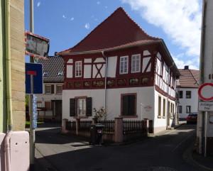 Meine Pfalz - meine Heimat: Fachwerkhaus aus Rockenhausen