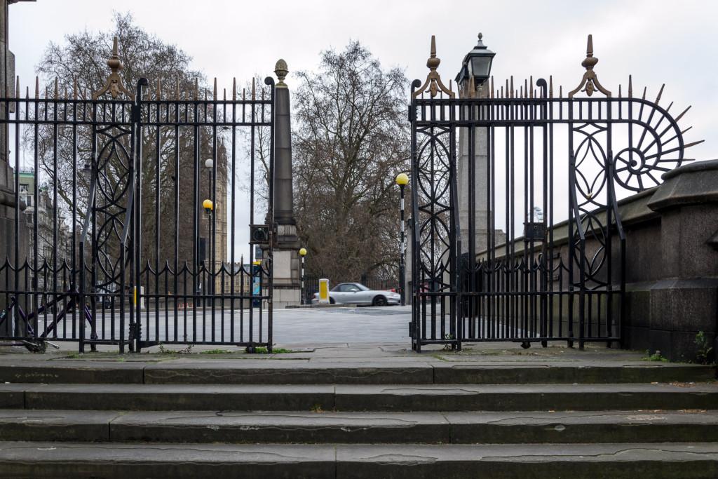 Gate zum Victoria Garden
