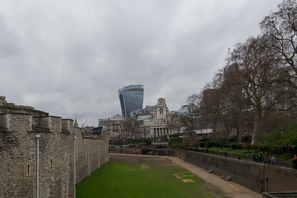Tower of London mit Wiese