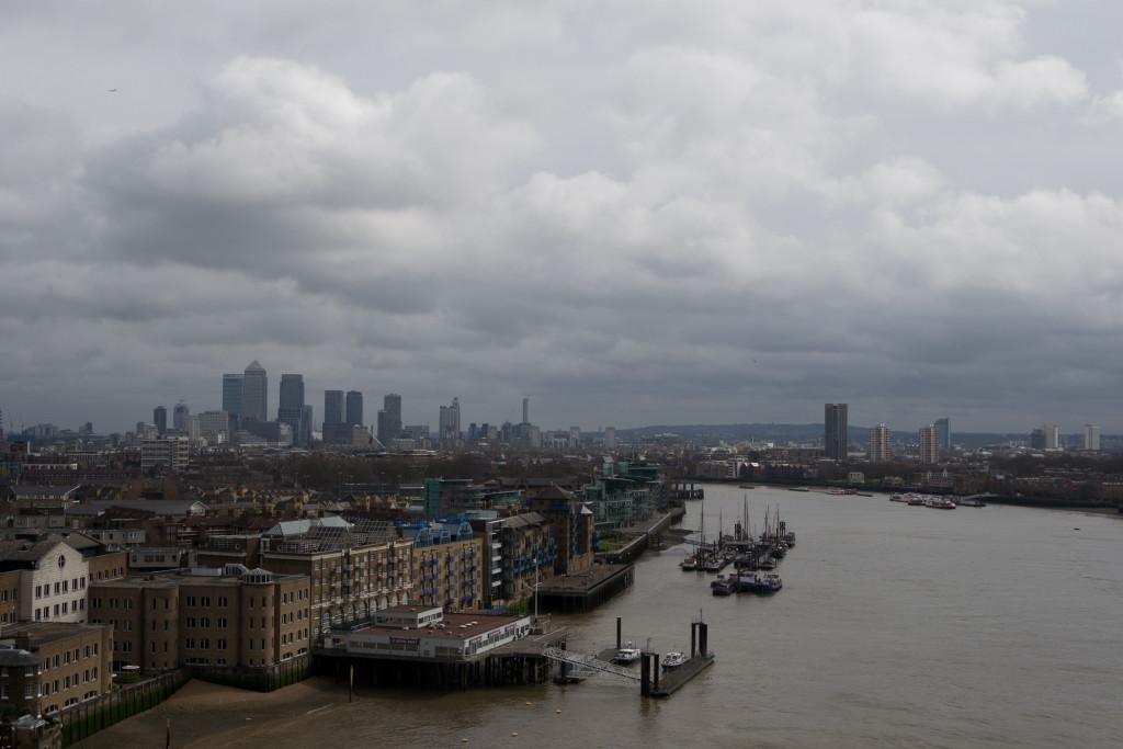 Hochhäuser Londons