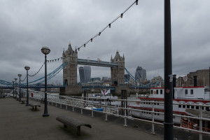 Tower Bridge und Gherkin