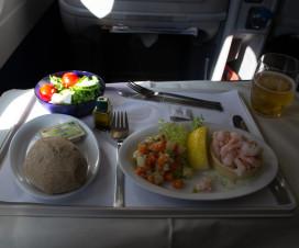Business Class bevorzugen? Für das Essen auf jeden Fall!