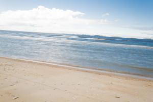 Weichgezeichnete Nordsee
