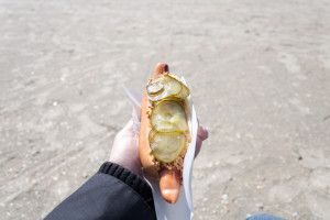 Dänischer Hotdog!