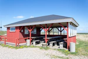 Schutzhütte auf Rømø