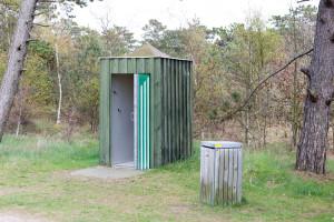 Toiletten an der Straße - in Dänemark standen sie häufig
