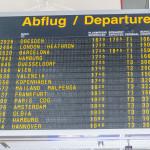 Es geht los - Abflug in Stuttgart nach Olbia