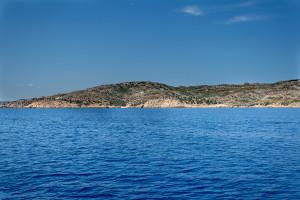 Blaues Meer bei Sardinien