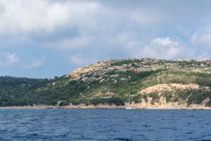 Blick am morgen auf der Sardinien Segeltour