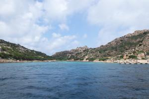 Badebucht Sardiniens