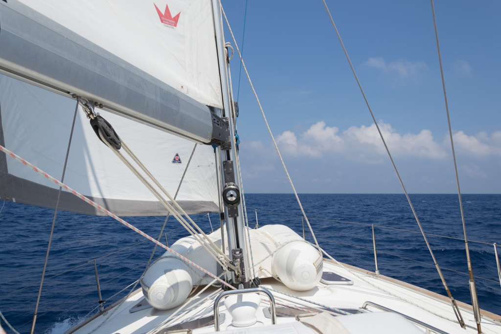Segelnd von Sardinien nach Korsika